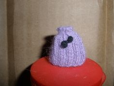 1/12th scale knitted tea cosy