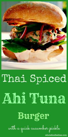 Tuna Burgers on Pinterest | Canned Tuna Recipes, Salmon Burger Recipes ...