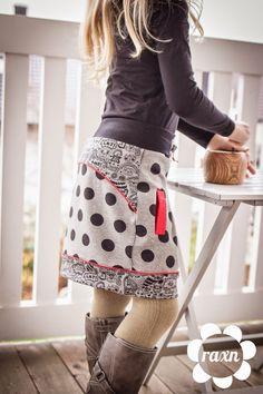 Cooler Style mit Hedy - ein Sweat-Rock für alle Wetterlagen (via Bloglovin.com )