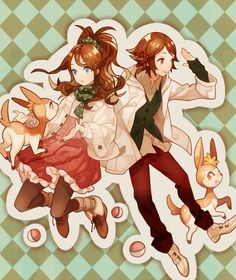 #brown eyes #brown hair #casual #deerling #dress #fingerless gloves #gloves #hair ornament #jacket #pantyhose #poke ball # # # # # # # # # #