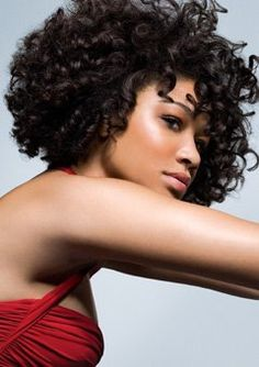 Get this look: Flowing Curls - Flexi-rods are the best!!