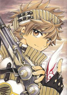 "Syaoran from ""Tsubasa Reservoir Chronicle"" by CLAMP"