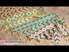 Pattern -How to Make the Loom Bracelet Duo Kits by Beadaholique - YouTube