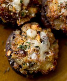 Recette : Champignons farcis à la saucisse de Véro #recette #champignon #veroniquecloutier