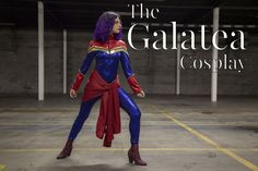 The Galatea Cosplay - Free Captain Marvel Sewing Pattern - Mood Sewciety