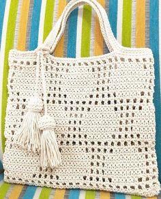 Crochet Purse Patterns, Crochet Tote, Crochet Handbags, Crochet Purses, Crochet Chart, Love Crochet, Filet Crochet, Beautiful Crochet, Crochet Stitches