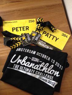 Finished the Urbanathlon 2013 Amsterdam!