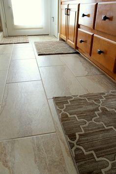 After Bath Tile Floor Rug Baton RougeTile FloorInterior Decorating