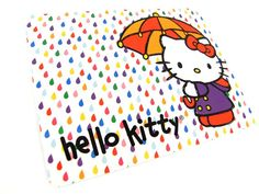 Hello Kitty Greeting Card by HelloSunshineXO on Etsy, $0.99