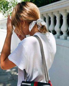 it-girl - scrunchie-cabelo-acessorio - scrunchie - verão - street style e2d5a8cdec6