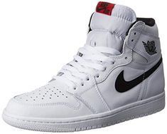 2e755b892e0 Nike Jordan Men s Air Jordan 1 Retro High OG White Black White Basketball Shoe  Men US Jordan is a key technology generation built-in air cushion unit With  ...