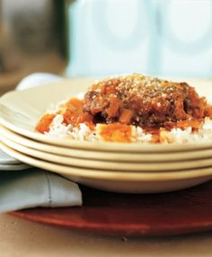 Chicken Stewed in Garlic and Cinnamon - Recipe by Cat Cora
