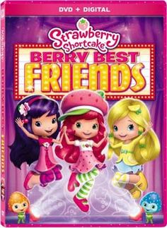 Strawberry Shortcake: Berry Best Friends DVD – includes 2 digital movies