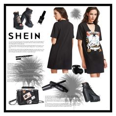 """""""SHEIN"""" by armina-saric ❤ liked on Polyvore featuring Guerlain and Azature"""