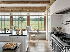 Look Inside This Elegantly Minimalist Farm on Martha's Vineyard Photos | Architectural Digest