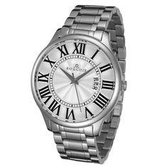 Rougois Men's Madison Series Silver Watch