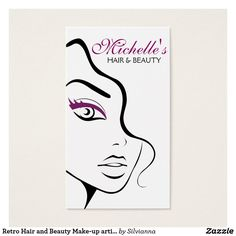 Business card with a beautiful black and white fashion girl face with full lips on a white background. Perfect for your company promotion. Suitable for make-up artists, cosmetologists, lash extension, hairdressers, stylists, spa salon , hair and beauty salon or model agency. Customizable.