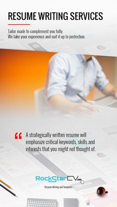 resume writing service prices