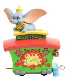 Take a look at the Jim Shore Dumbo Parade Float Figurine on #zulily today!