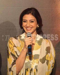 Tabu at the launch of a new song from 'Drishyam'. #Bollywood #Drishyam #Fashion #Style #Beauty