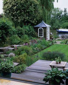 garden patios, countri garden, english country gardens