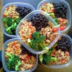 Meal Prep use to be so confusing and now I'm a #boss at it. No one is a pro at anything in the beginning. I promise you that! But I just kept at it and each week I got better and better and now it's just a habit. I enjoy my clean eats! I am happier, healthier, less bloated, have tons more energy, and I save money. Black beans, ground turkey, brown rice, and broccoli for the win!!!  If you need help.. I run monthly health & fitness focused challenge group...