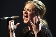 Adele - she proves that you don't have to be skinny to be beautiful, talented or successful. Love her <3