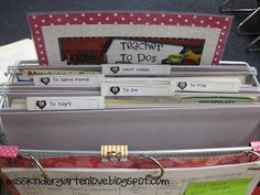 Tabletop Organizer - Miss Kindergarten