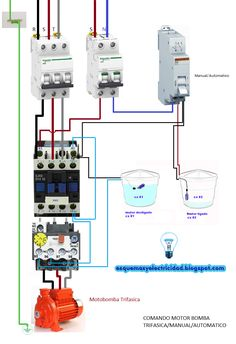 Acorta tus URLs y gana dinero! Electrical Panel Wiring, Electrical Circuit Diagram, Electrical Installation, Electrical Engineering, Solar Panel Battery, Solar Panel Kits, Solar Panel System, Solar Panels, Panel Systems
