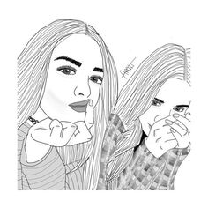 AWESOME PROBZZZ ❤ liked on Polyvore featuring drawings, drawing, outline and filler