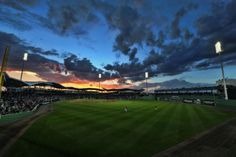 There's nothing like a game at dusk at JetBlue Park