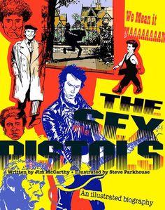 Sex Pistols Graphic unused cover