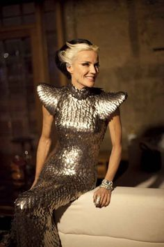 "The Honorable  Daphne Guinness ""Genghis Khan"" by GK Reid   February 12, 2012"