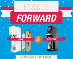 Enter to Win a Sodastream Soda Maker for You and a Friend!