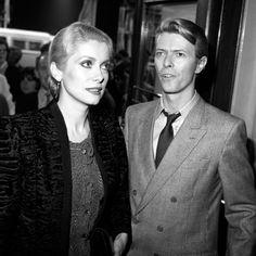 Catherine Deneuve e David Bowie