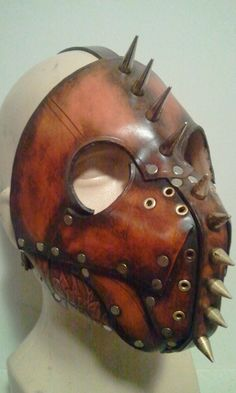Hell hound leather mask by Skinz-N-Hydez.deviantart.com