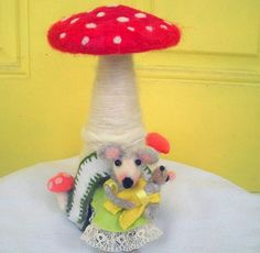 Hey, I found this really awesome Etsy listing at https://www.etsy.com/listing/161676649/needle-felted-toadstool-house-for-a