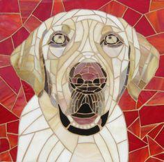 """""""Sandy"""" Mosaic By Gwyn Vermeulen"""