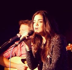 Lucy Hale performs on her radio tour. Heart our former cover girl.