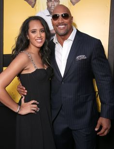 """26 Moments Between """"The Rock"""" and His Daughter That Prove Their Bond Is 1 of a Kind 15 Moments Between """"The Rock"""" and His Daughter That Prove Their Bond Is One of a Kind Dwayne Johnson Family, The Rock Dwayne Johnson, Dwayne The Rock, Dwayne Johnson Daughter, Rock Johnson, Img Models, Oprah Winfrey, The Rock Wife, Beautiful Family"""