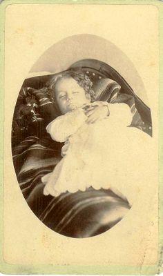 little girl on blanket