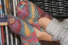 Für warme Kinderfusserl Fingerless Gloves, Arm Warmers, Fashion, Handarbeit, Breien, Fingerless Mitts, Moda, Fingerless Mittens, Cuffs