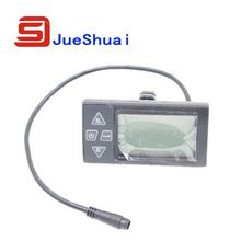 ebike intelligent LCD Control Panel LCD Display Electric bike Parts With Two connector Selection Bike Parts, Cycling Gear, Control Panel, Electric, Display, Watch, Top, Clock, Parts Of Bike