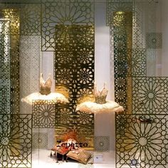Window Display in Gold
