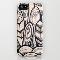 Feathers iPhone Case by Jewelwing - $35.00