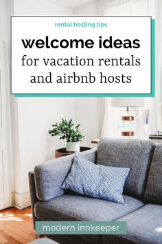 The key to a winning welcome is to showcase the items that are necessary, appealing, and personable to guests upon arrival. A great host can put a smile on guests' faces upon arrival, without having to physically be there. These ideas will help you to improve the guest's welcome experience and boost your ratings! #airbnb #travel #vacationrentals #rentaltips #airbnbhost #rentalhost #hosttips