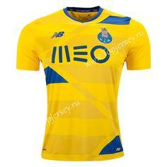2016-17 Porto Away Yellow Thailand Soccer Jersey-Porto| topjersey