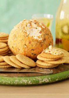 Mexican-Style Party Cheese Ball — Give your cheese ball a kick of flavor. Fresh cilantro and lime plus pepper Jack cheese and chili powder spice things up.
