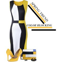 Color Blocking by barbarapoole on Polyvore featuring Michael Kors, Marni, Pearlz Ocean and Bling Jewelry