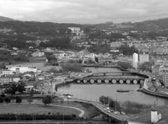 Pontes sobre o Lérez. Pontevedra